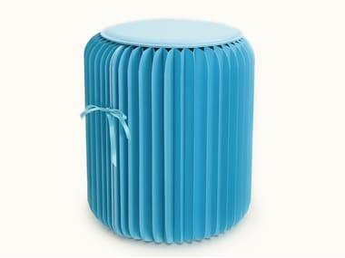 Low paper stool PAPER | Stool
