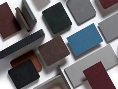 Composite material for furniture and accessories PAPERSTONE®