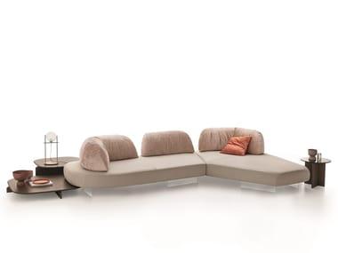 Corner sectional fabric sofa PAPILO | Corner sofa