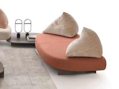 3 seater fabric sofa PAPILO   3 seater sofa