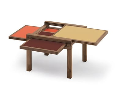 Solid wood coffee table PAR 3