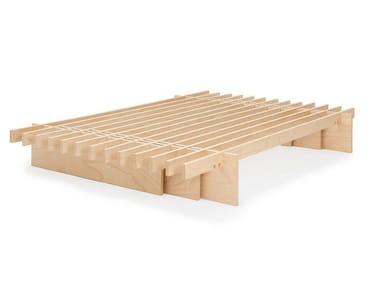 Trundle beech bed base PARALLEL