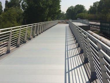 Aluminium Road railing ORIZZONTE URBAN