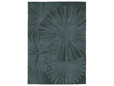 Handmade rectangular wool rug SUNSHADE | Rug