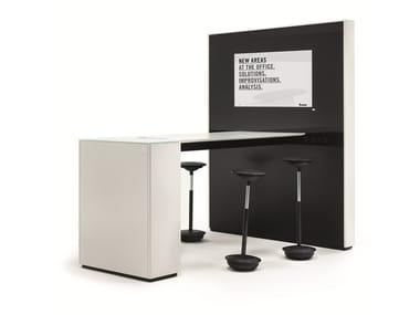 Multimedia meeting table PARCS - IDEA WALL | Multimedia meeting table