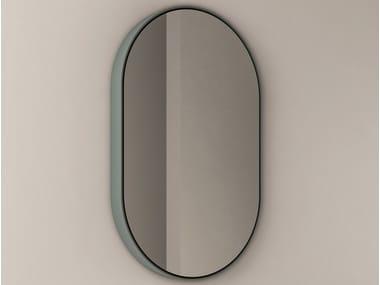 Specchio ovale con illuminazione integrata PARENTESI | Specchio ovale