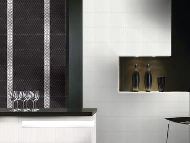 White-paste 3D Wall Tile PARENTESI QUADRA | 3D Wall Tile