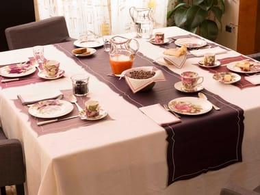 Linen Table runner PARENTESI RECTANGULAR | Table runner