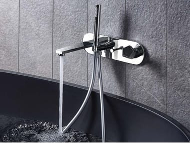 Bathtub mixer with diverter with hand shower PARK | Bathtub mixer with hand shower