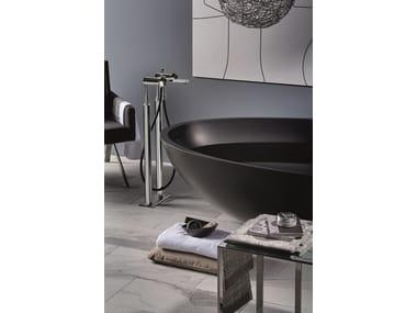 Floor standing bathtub set with hand shower PARK | Floor standing bathtub set