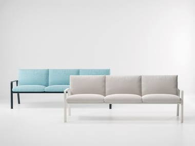 3 seater fabric garden sofa PARK LIFE   3 seater garden sofa