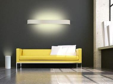 Gypsum floor lamp PARMA