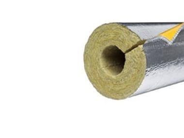 Rock wool thermal insulation felt PAROC HVAC SECTION ALUCOAT T