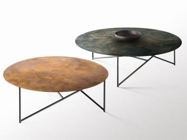Tavolino rotondo in metallo PARSEC