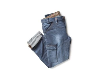 Pantalone in tessuto Knit Denim PARTNER DENIM BLU DENIM
