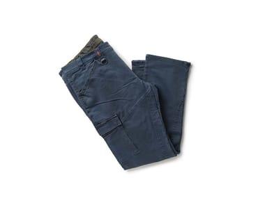 Pantalone in tessuto Knit Denim PARTNER POLVERE
