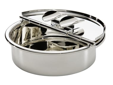 Silver ashtray PASSIONI | Ashtray