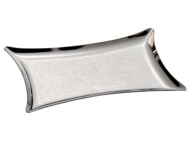 Rectangular silver tray PASSIONI | Silver tray