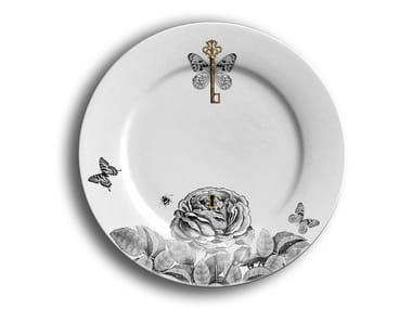 Porcelain dinner plate PASSPORT 1