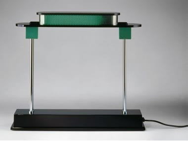 LED resin table lamp PAUSANIA