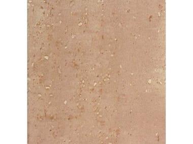 Gres porcellanato effetto pietra PAVE' DUEMILA   Rosso
