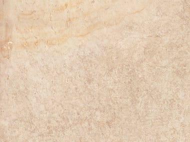 Gres porcellanato effetto pietra PAVE' QUARZ OUTDOOR | Dorato