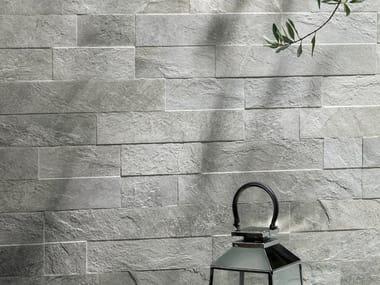 Porcelain stoneware wall tiles PAVÉ WALL ARDES