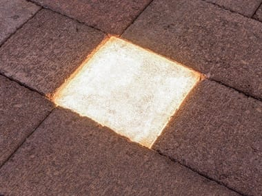 Paving block with light PAVER LED