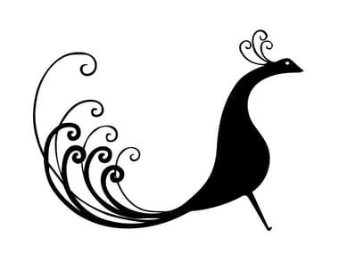 Decorative object PAVO REAL | Decorative object