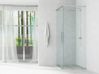Cabina de ducha rectangulares a medida de vidrio PBF-GYRO