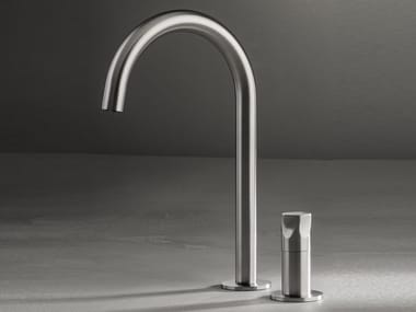 2 hole countertop washbasin mixer PE262 | Washbasin mixer