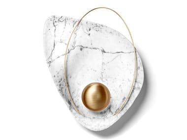 Marble wall light PEARL