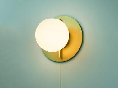 Lampada da parete / lampada da soffitto in vetro soffiato PEARL