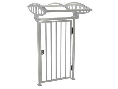 Swing steel pedestrian gate PEDGATE