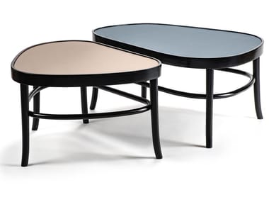 Wooden and laminate coffee table PEERS
