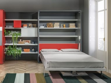 Storage wall with fold-away bed PENELOPE 2 DINING