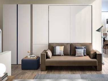 Convertible 2 seater fabric sofa PENELOPE 2 SOFA