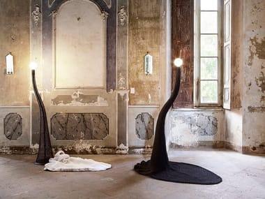Handmade fabric floor lamp PENELOPE