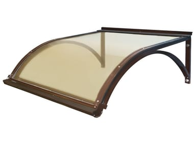 Modular polycarbonate door canopy PENSILINA GIORGIA