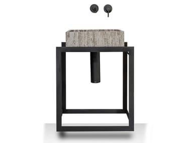 Floor-standing steel vanity unit PERÍMETRO   Floor-standing vanity unit