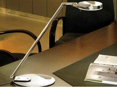 LED with swing arm desk lamp PERCEVAL LED 6348