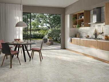 Pavimento/rivestimento in gres porcellanato effetto pietra PERCORSI