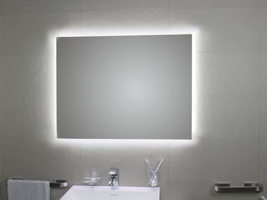 Bathroom mirror with integrated lighting PERIMETRALE AMBIENTE LED