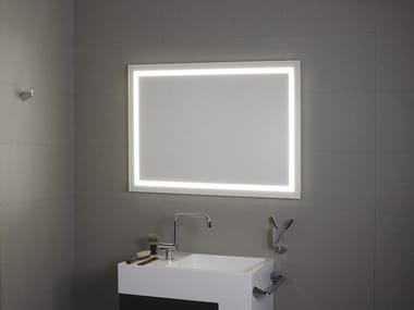 Bathroom mirror with integrated lighting PERIMETRALE LED