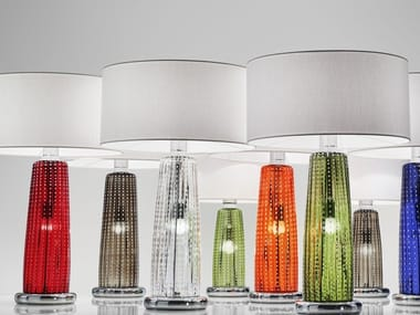 Blown Glass Table Lamp PERLE | Table Lamp