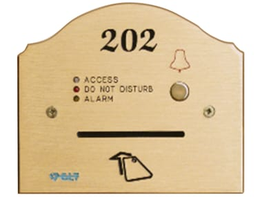 Brass wall plate PERSEO 1048/160