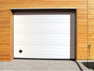 Portone da garage in acciaio zincato PERSUS
