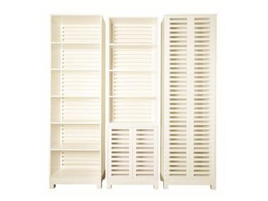 Lacquered MDF bookcase PESCADA