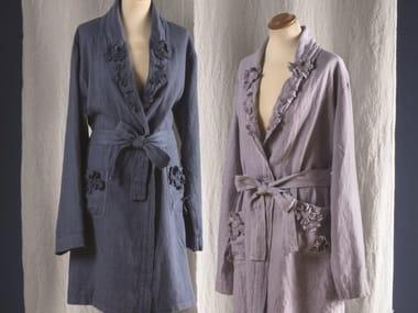 Linen bathrobe PETALI | Bathrobe
