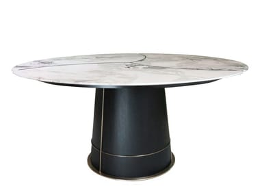 Round dining table PETALI | Dining table